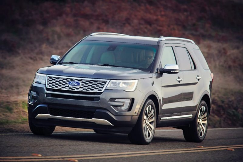 Most American Made Car - Ford Explorer