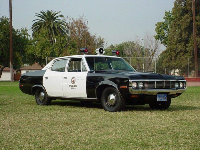 Coolest Cop Cars Ever - AMC Matador