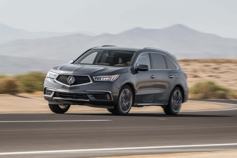 Most American Made Car - Acura MDX