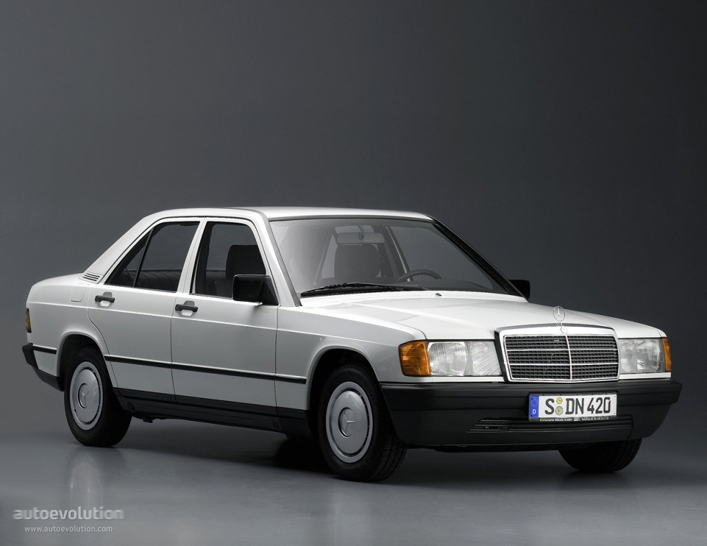 1984-1993 Mercedes-Benz 190