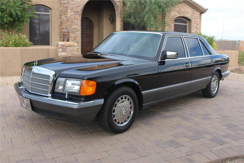 Cheap Classic Cars - 1985-1991 Mercedes-Benz W126 500 SEL, SEC