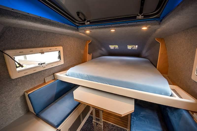 Toyota Hilux Expedition V1 Camper Sleeping Nook