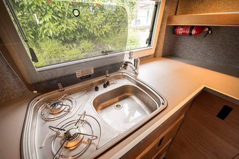 Toyota Hilux Expedition V1 Camper Interior Kitchen