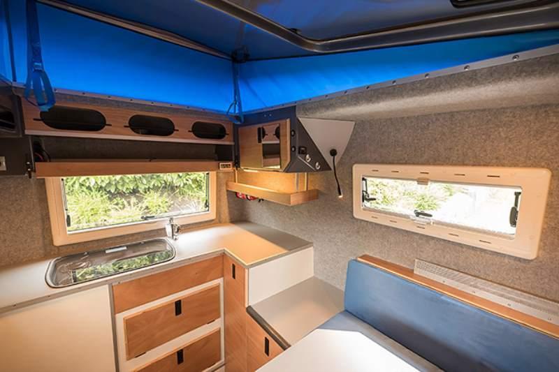Toyota Hilux Expedition V1 Camper Interior Cabin