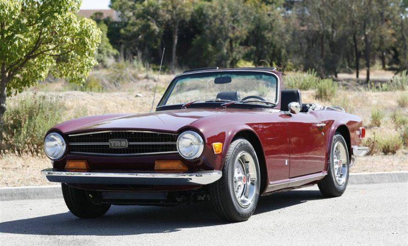 Cheap Classic Cars - 1969-1976 Triumph TR6