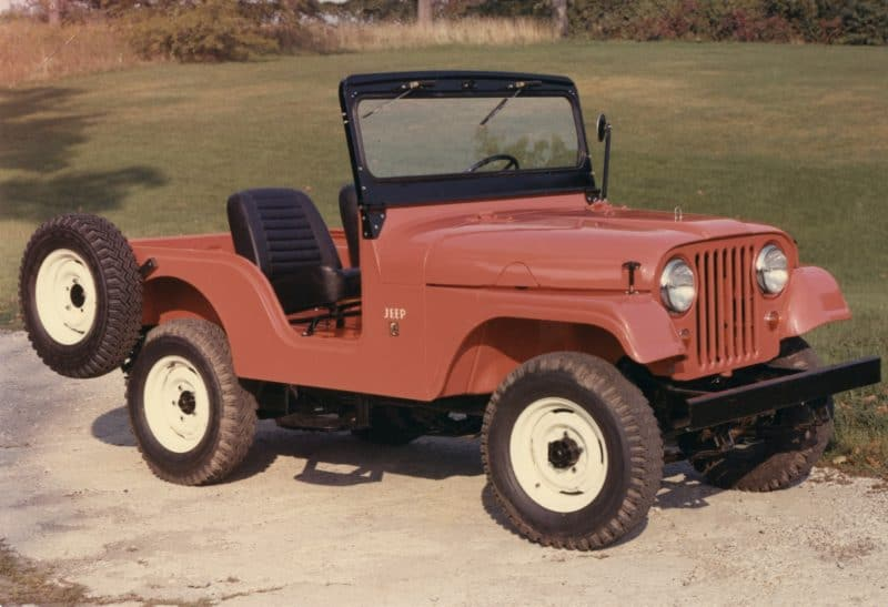 Best 4x4 SUV Classics - 1954-1983 Jeep CJ-5