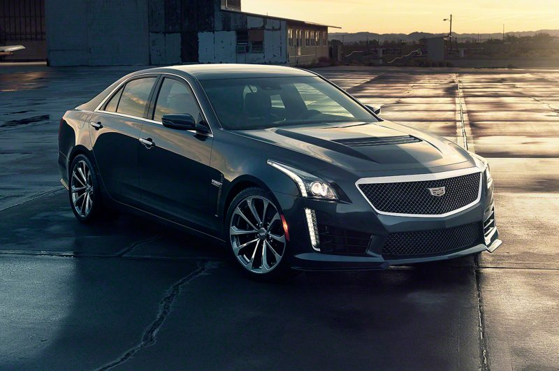 Really Awesome Cars Made In America - Cadillac CTS-V
