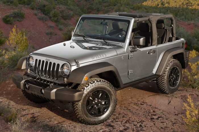 Really Awesome Cars Made In America - Jeep Wrangler