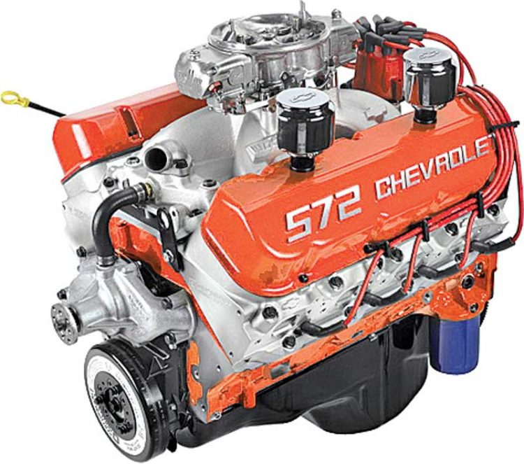 572 Chevrolet Crate Engines