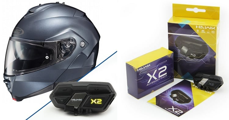 BEst Bluetooth Motorcycle Helmets - HJC IS-Max II Anthracite