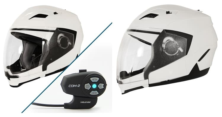 Best Bluetooth Motorcycle Helmet - Hawk Evolution Modular Helmet