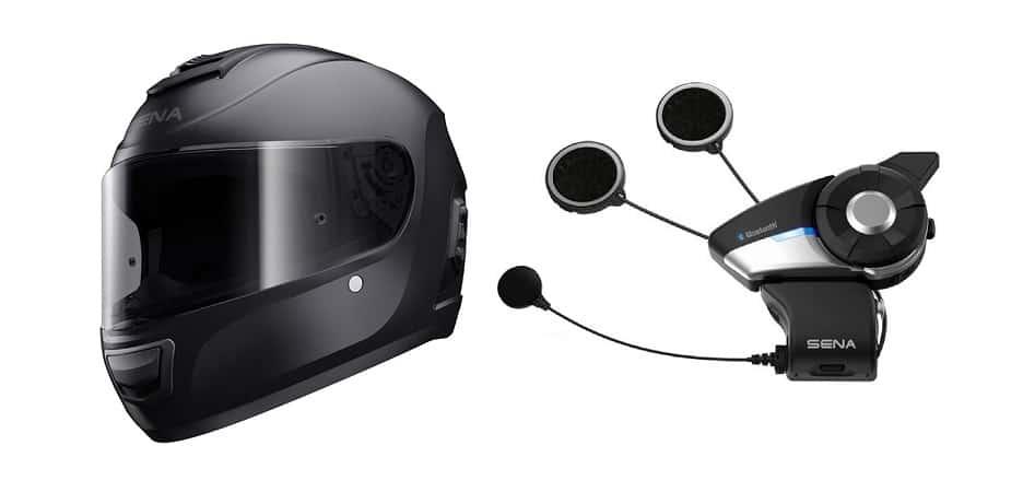 Best Bluetooth Motorcycle Helmet - Sena Momentum