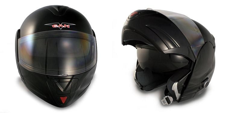 Bluetooth Modular Motorcycle Helmets - VCAN 210 B1