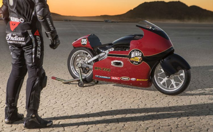 Lee Munro Land Speed Record 4