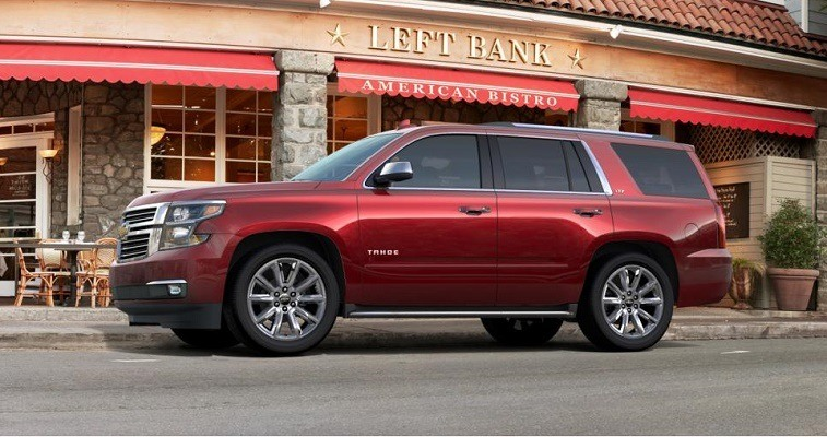 Chevrolet Tahoe Is Rated Pretty Low In Terms Of SUV Safety