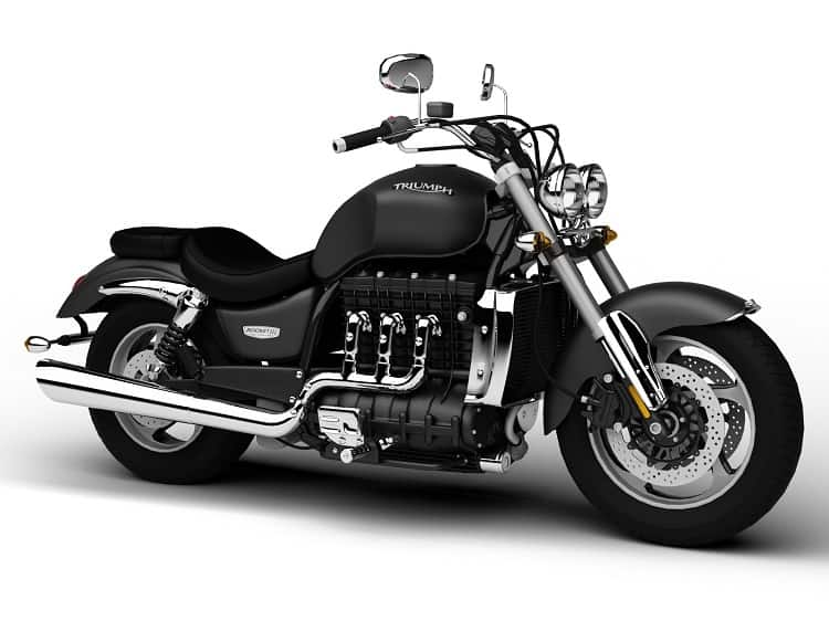Fastest Cruiser Motorcycle: Triumph Rocket III Roadster