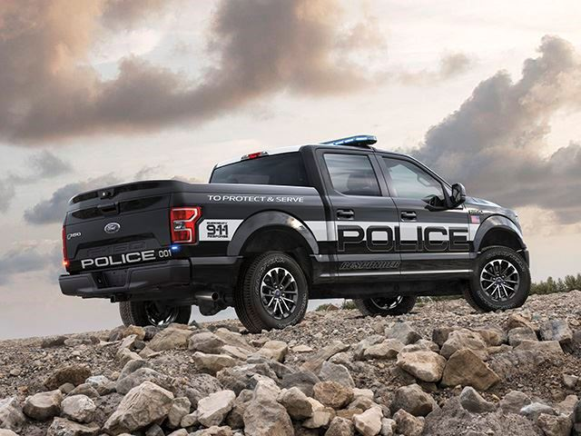 Ford F-150 Police 3