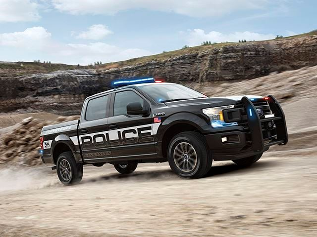 Ford F-150 Police 1