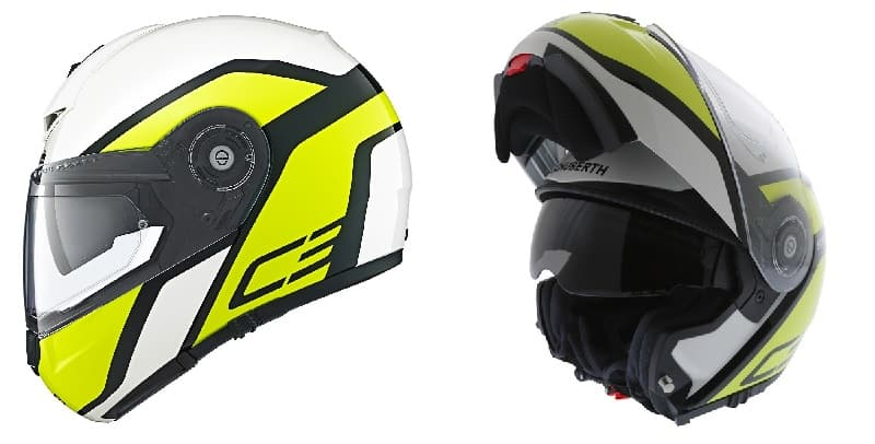 Schuberth C3 Pro Bluetooth Motorcycle Helmet 3