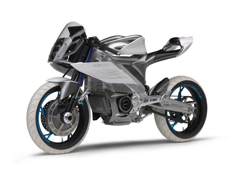 PES2 Yamaha Electric Motorcycle 4