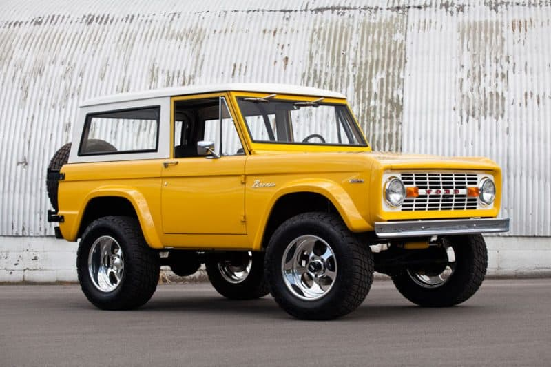 Best 4x4 SUV Classics - 1966-1977 Ford Bronco