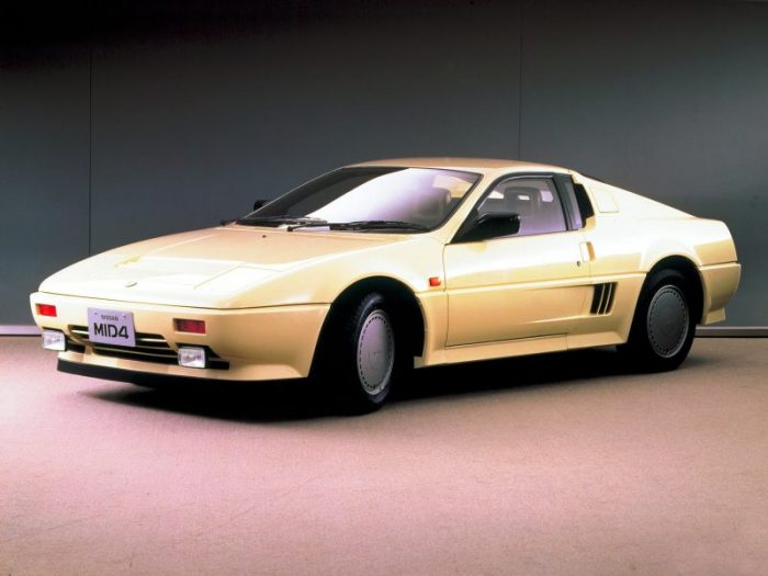 JDM Cars - Nissan MID4
