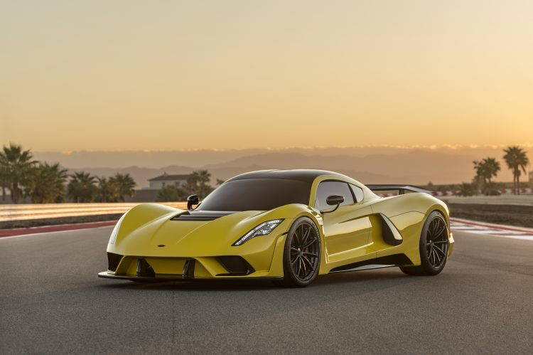 Most Fastest Car In The World - Hennessey Venom F5