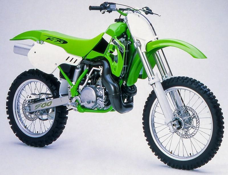 Best 2-Stroke Dirt Bikes - Kawasaki KX500