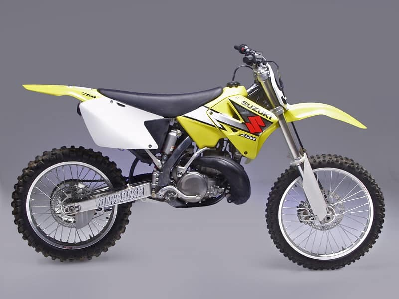 Best 2-Stroke Dirt Bikes - Suzuki RM250