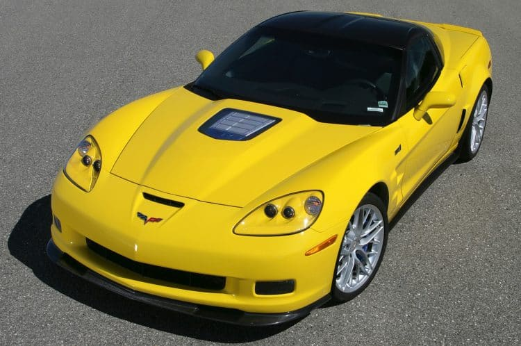 Most Powerful American Muscle Car - 2013 Chevrolet Corvette ZR1 (638 hp)