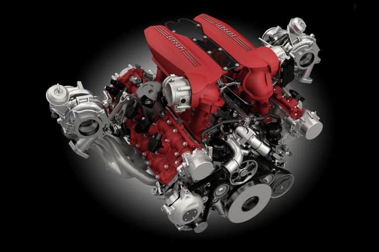What Is The Best V8 Engine - Ferrari 3.9L F154 Twin-Turbo V8