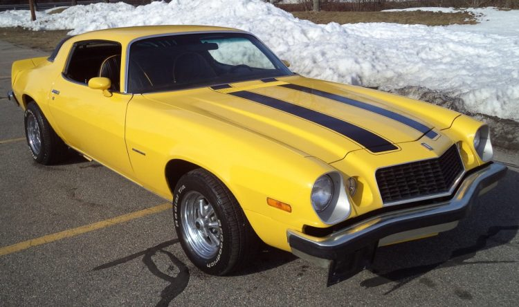 Most Popular Muscle Cars With Issues - 1975 Chevrolet Camaro