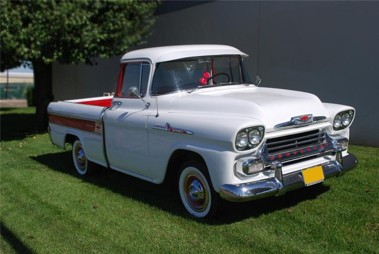 Old Chevy Cars That Time Forgot - 1955-1958 Cameo Carrier