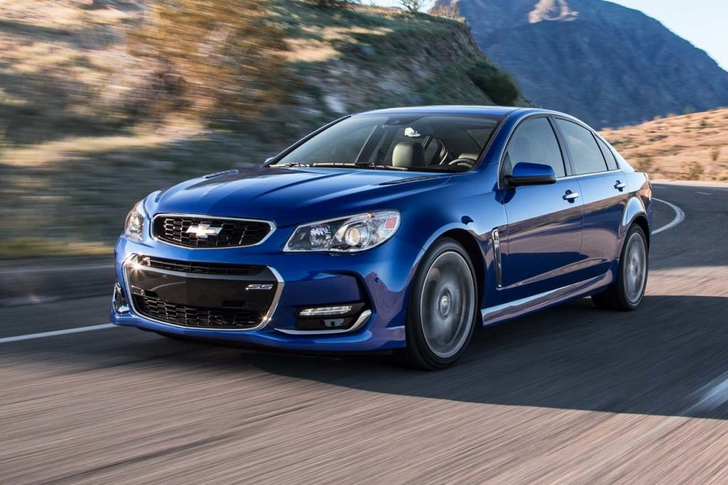 Chevy SS Front 3/4 Souped Up Cars