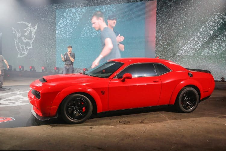 Most Powerful American Muscle Car - Dodge Challenger SRT Demon