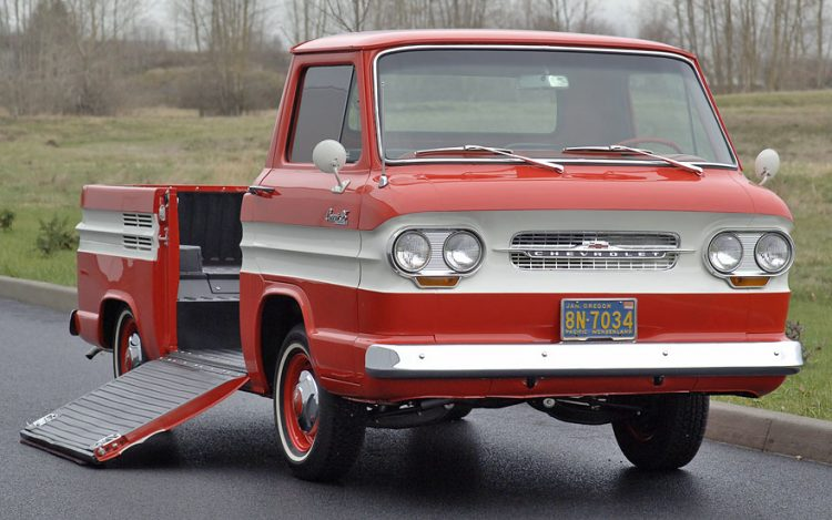 Old Chevy Cars That Time Forgot - 1961-1965 Greenbrier Rampside