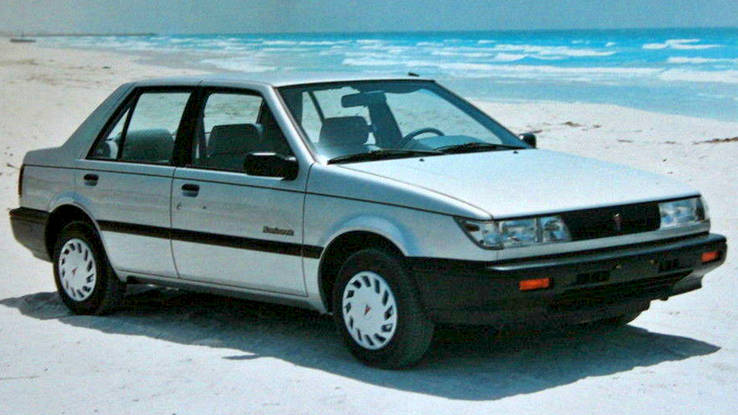 Obscure Pontiac Models - 1985-1989 Sunburst