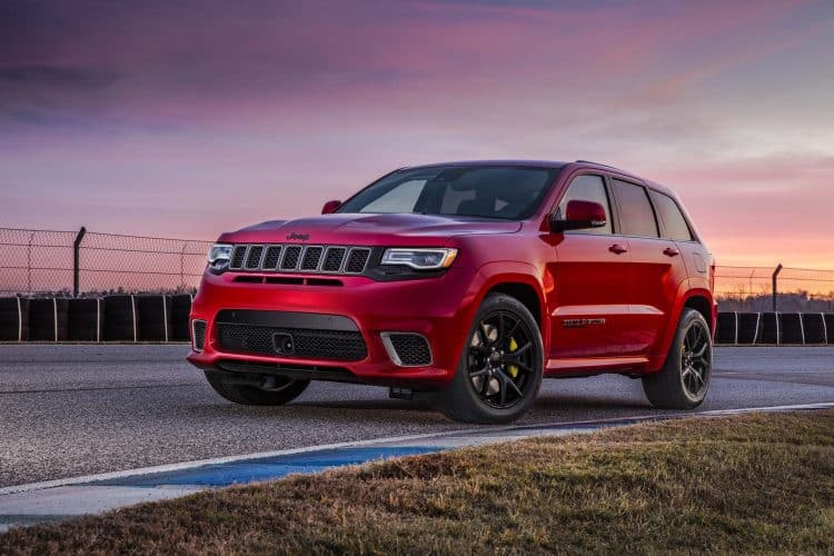 Most Powerful American Muscle Car - Jeep Grand Cherokee Trackhawk