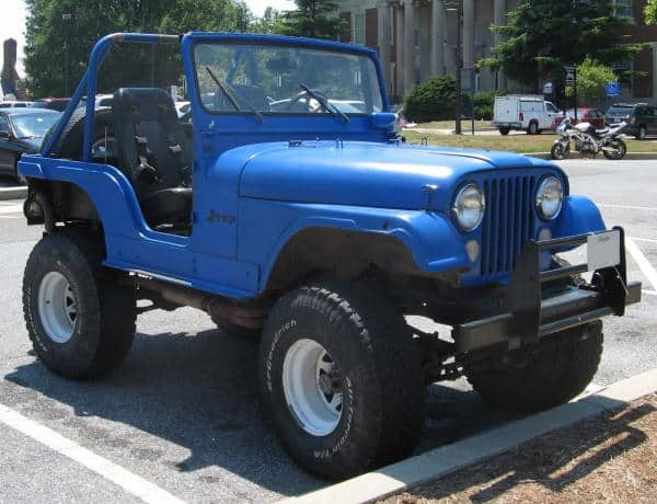 AMC 401 Jeep engines powered the 1972 CJ10