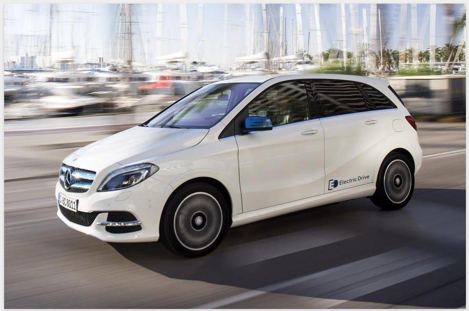 Mercedes Benz B-class Electric Drive - discontinued cars list