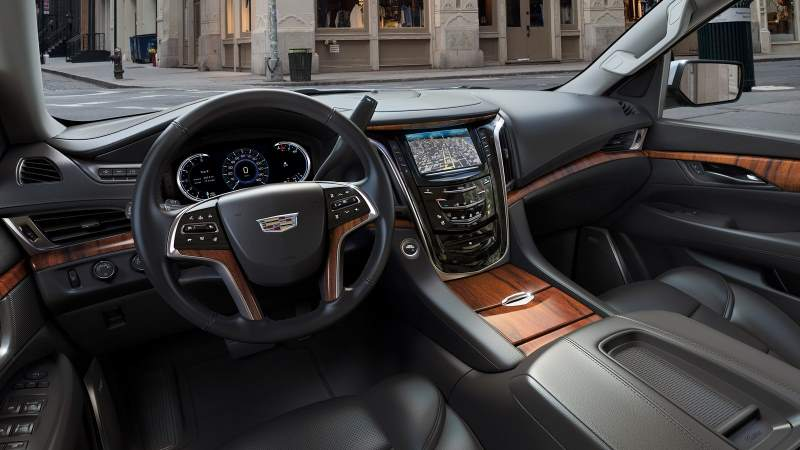 2020 escalade interior