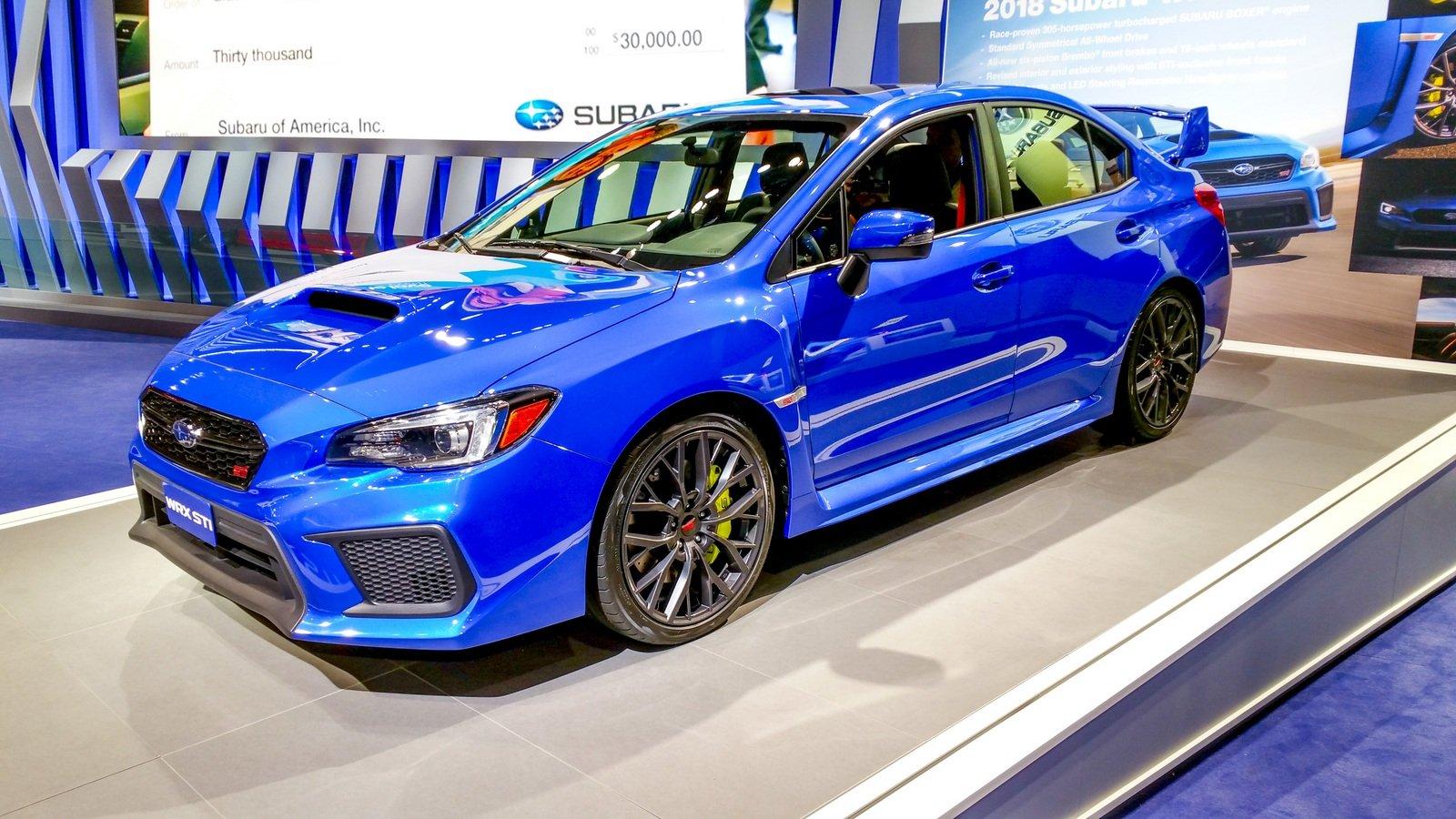 The Subaru WRX STI rules the road