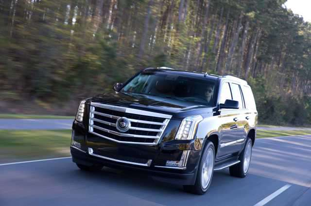 The Cadillac Escalade is the most luxurious 7-8 passenger SUV.