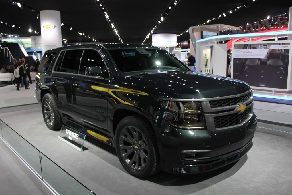 The Chevrolet Tahoe is a great people carrier