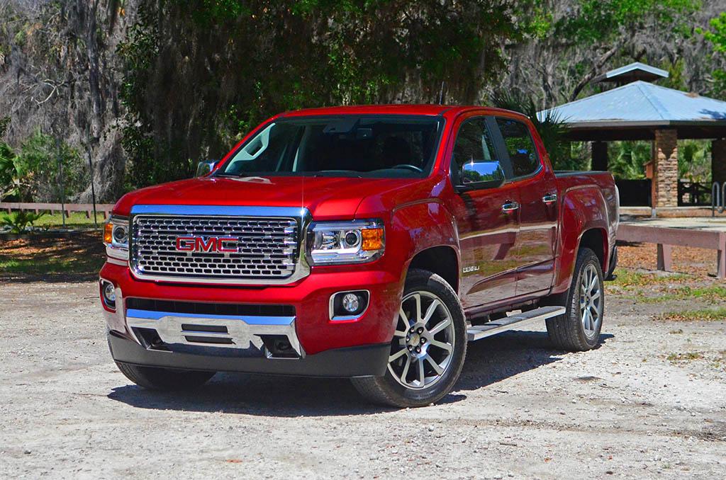 GMC Canyon make great little trucks.