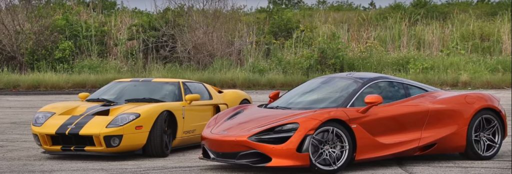 Ford GT and McLaren 720S Dragrace 2