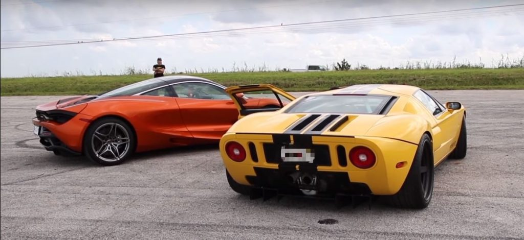 Ford GT and McLaren 720S Dragrace 3