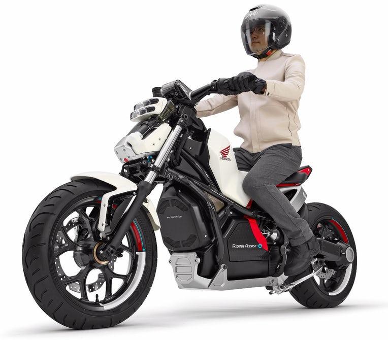 Honda Riding Assist-e 4