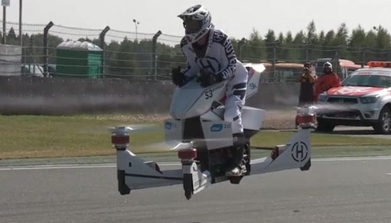 Hover Bikes - HoverBike S3 4