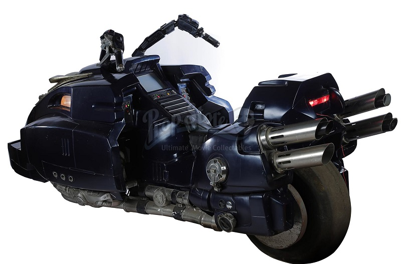 Judge Dredd Motorcycle Lawmaster 3